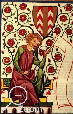 Detail des Codex Manesse